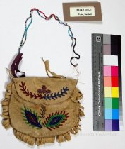 Image of 8634-139-(2) - Purse, Beaded; Floral