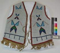 Image of 8634-204 - Vest, Beaded, Adult; Geometric