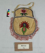 Image of 8634-223 - Bag; Beaded, Floral