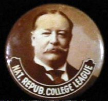 "Image of 8661-64 - Button, William H. Taft; ""Nat. Repub College League"""