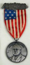 Image of 8708-6 - Badge; William Jennings Bryan