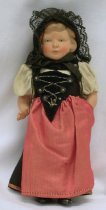 Image of 8943-7 - Doll; Celluloid; Woman; Switzerland