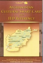Image of 9030-209 - Brochure, Quikpoint, Afghanistan Cultural Smart Card & IED Reference