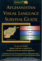 Image of 9030-212 - Brochure, Quikpoint, Afghanistan Visual Language Survival Guide