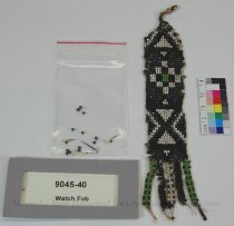 Image of 9045-40 - Watch Fob; Beaded, Geometric