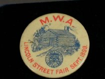Image of 9098-34 - Button, MWA Lincoln Street Fair