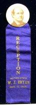 Image of 9098-11 - Badge; William Jennings Bryan