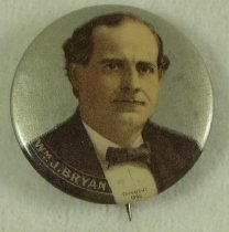 Image of 9098-14 - Button, Political; William Jennings Bryan
