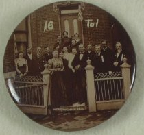 "Image of 9098-18 - Button, Political; William Jennings Bryan; ""16 To 1"""