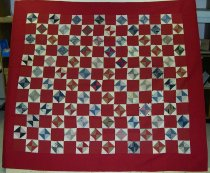 Image of 9154-110 - Quilt, Triangle Pattern.