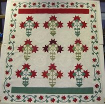 Image of 9154-112 - Quilt, Variation of Peony