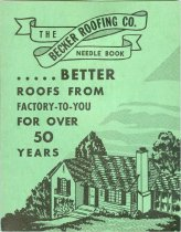 Image of 9188-245 - Brochure, The Becker Roofing Co.