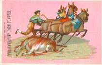 Image of 9188-82-(21) - Advertising Card, Compliments of The Hamilton Corn Planter