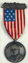 Image of 9317-3 - Badge; William Jennings Bryan