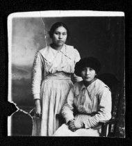 Image of Margaret Blackbird and Edie Warner