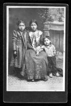 Image of Young Girl and Two Children