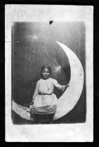 Image of Girl on the Moon