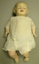 Image of 9379-42-(1) - Doll; Composition & Cloth; Baby
