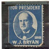 Image of 9428-1 - Stamp; William Jennings Bryan