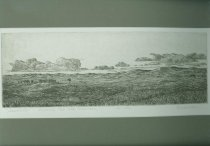"Image of 9445-228 - ""Sandhills"" Print by Anne Burkholder, 164/250"