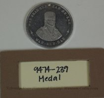 Image of 9474-239 - Medal, Peace; Osage; Replica
