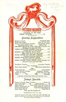 Image of 9499-70 - Menu; Plush Horse, 1945, OPA Prices, Butter Substitute