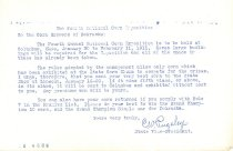 Image of 9559-30-(2) - Letter;  National Corn Growers Exposition in Ohio