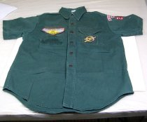 Image of 9579-35 - Shirt, Explorer, Boy Scouts of America, Short Sleeve, Cornhusker Council