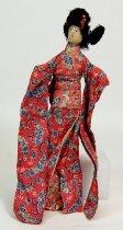 Image of 9612-22 - Doll; Cloth; Woman; Saipan