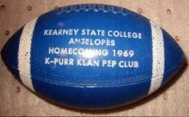 Image of 9618-110 - Minature Football, Kearney State College Homecoming