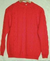 Image of 9618-97 - Orange, Wool Sweater