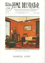 Image of 9805-1002 - Pamphlet, the Home Decorator; Sample Copy, Vol. 2, No. VIII, 1912