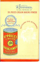 Image of 9805-988 - Cookbook, Table and Kitchen; Dr. Price's Cream Baking Powder