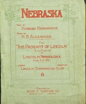 """Image of 9841-1 - Sheet Music, """"The Pageant of Lincoln"""""""