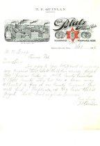 Image of 9856-133 - Letterhead; Blatz Brewing Co., Milwaukee