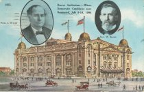 Image of 9857-559 - Postcard; William Jennings Bryan; Denver Auditorium