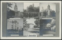 Image of Collage of Buildings and Sights Around Lincoln, Nebraska