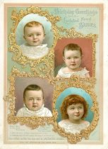 Image of 9977-224 - Card, Birthday Greetings, Baby Food, Lactated Food