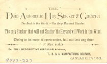 Image of 9977-227 - Card, Trumbull, Reynolds & Allen, Seedsmen