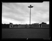 Image of Advertisement Billboards at Baseball Field
