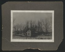 Image of Home of Alfred Blackbird, Omaha Indian Reservation