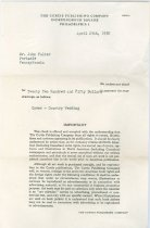 Image of RG4121.AM.S1.SS1.F5. Curtis Publishing Co. Letter April 25, 1950