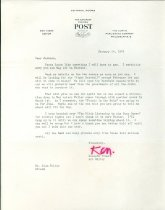 Image of RG4121.AM.S1.SS1.F14 Saturday Evening Post Letter January 24, 1947