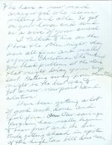 Image of RG4121.AM.S1.SS1.F4. Connemara Farm Letter January 8, 1949 pg. 1 Back