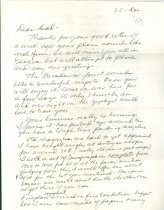 Image of RG4121.AM.S1.SS1.F19. Letter to Falter's Dad December 22, 1953 Front