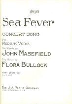 Image of 11947-3 - Sheet music, Sea Fever, Flora Bullock