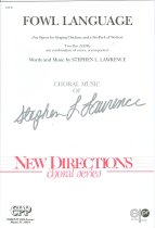 Image of 11580-44 - Music, Sheet, Fowl Language; Stephen L. Lawrence