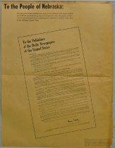 Image of 10387-22-(16) - Newspaper, Nebraska Scrap Plan