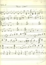 Image of 13000-2995 - Book, Music, Act II; Instrumental Scores for Lincolns Centemmial, May 1959
