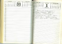 Image of NSHS Archives: RG4121.AM.S2.F2 DIARY 32